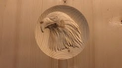 First piece of 3d CNC'd, Eagle Head