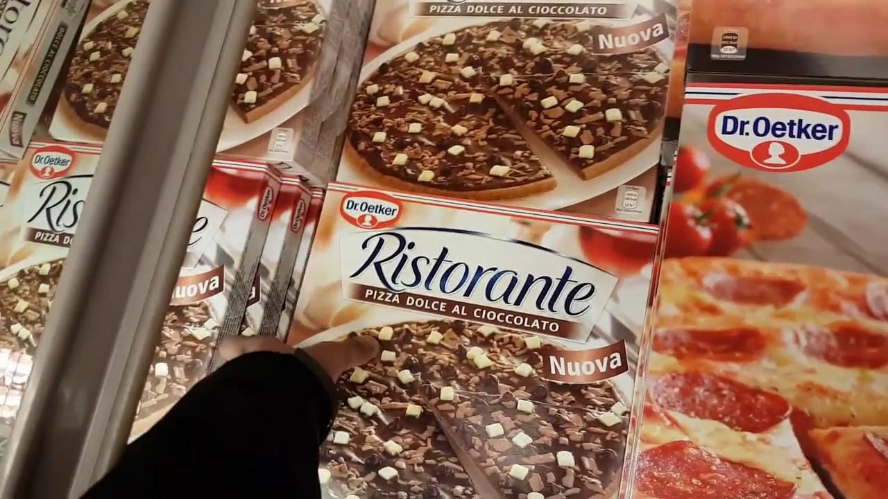 Oetker Schoko Pizza