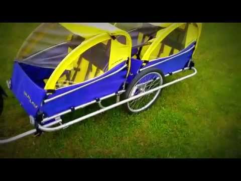 4 Seat Bike Trailer 4 Seater