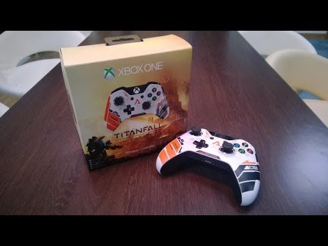 Titanfall Xbox One Limited Edition Controller Unboxing!