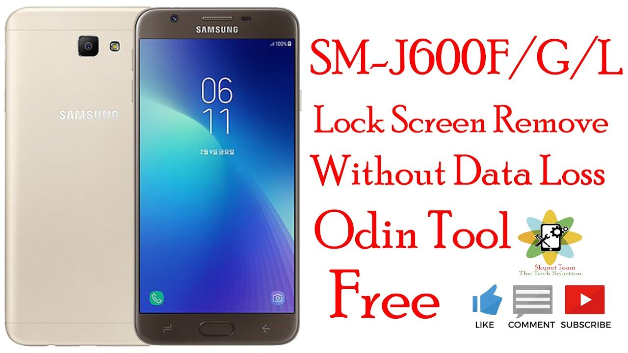Samsung J600F/G/L Lock Screen Remove Without Data Loss