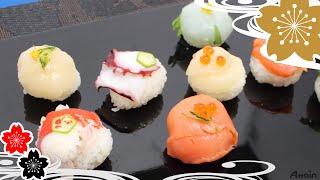 Суши  темариШаровИдный суши✿рецепты японской кухни