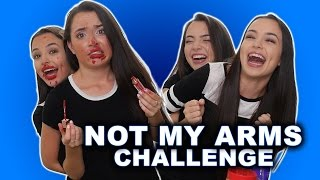connectYoutube - NOT MY ARMS CHALLENGE - Merrell Twins