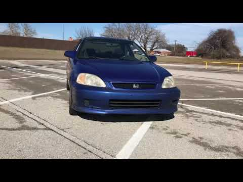 TEIN Flex Z final results on the 1999 civic si