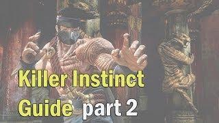 Killer Instinct 2013 описание боевой системы (Обучение) часть 2