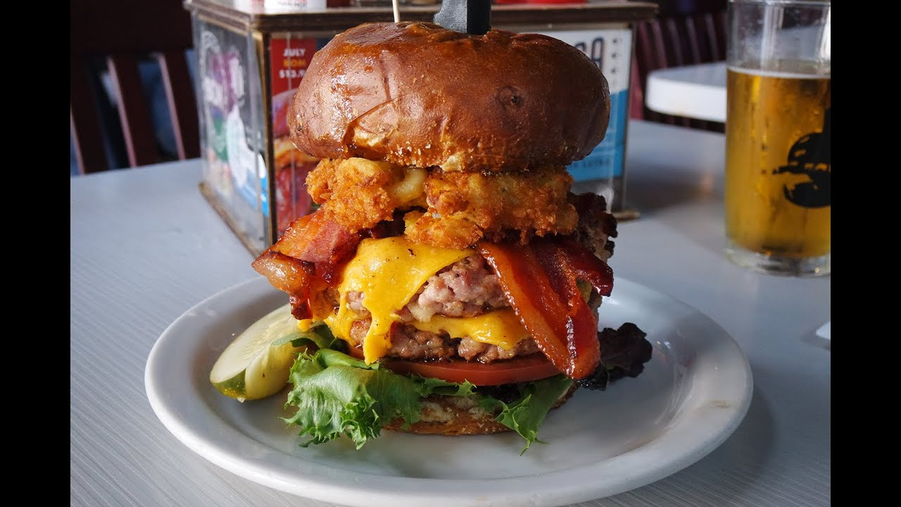 'Merica Burger 2.0 at Slater's 50/50 | The Burger Crawl ...