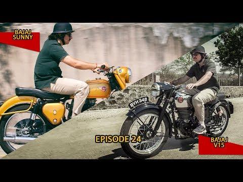 #100Motorcycles: Episode 24: Velocette Venom & BSA Golden Flash