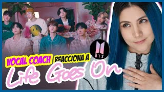 BTS - Life Goes On | VOCAL COACH REACCIONA | Gret Rocha
