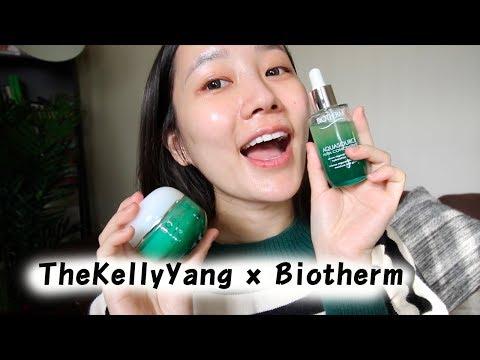 TheKellyYang x Biotherm | 水光草系列。補水保養