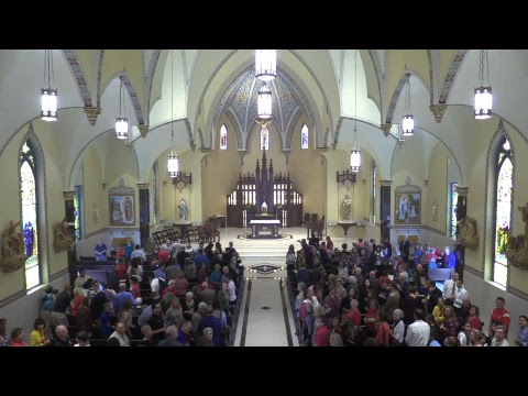 Mass of Dedication of Our Lady of Lourdes Catholic Church - Pittsburg, KS (October 14.2017)
