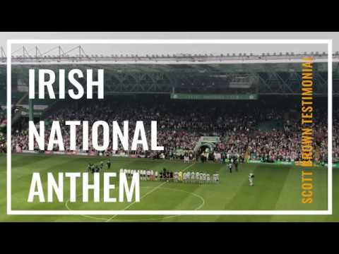 Irish National Anthem at Scott Brown Testimonial