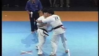 極真 全関西1996  堀池典久 二連覇への道(1/2)