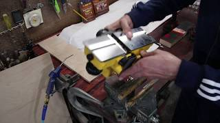 Changing Blades On Power Dewalt Hand Planer D26676 Or Similar Dewalt Hand Planer