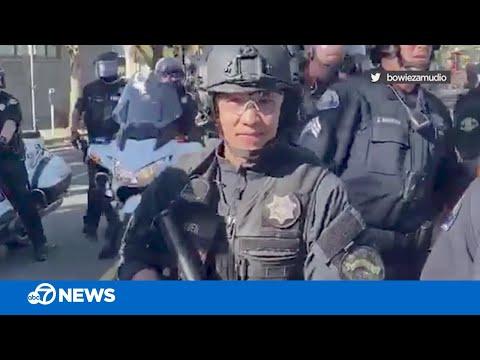 California police officer