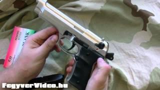 Keserű Army   Voltran Firat F92 gázpisztoly -   FegyverVideo hu