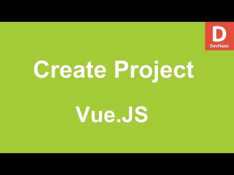 Vue.Js Create New Project App in Vue thumbnail