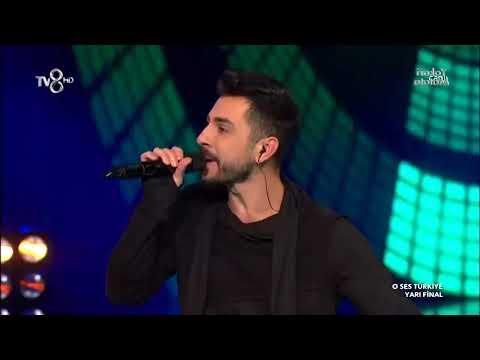 Mehmet Demiray - Şımarık   O Ses Türkiye Yarı Final