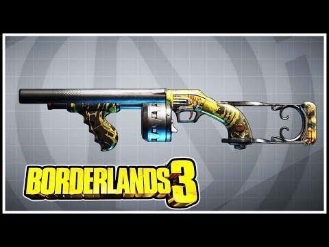 Sledge's Shotgun Borderlands 3 Legendary Showcase
