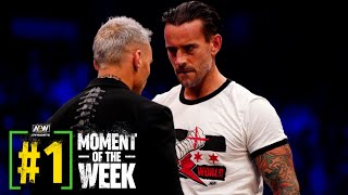 What happened When CM Punk & Darby Allin came Face to Face?   AEW Dynamite 100, 9/1/21