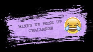 Especial 7000 suscriptores! MIXED UP MAKE UP CHALLENGE Con Nerea Sanabria!| MiSuNdErStOoD!! |