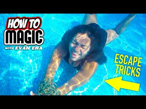 10 Magic Escape Stunts and How To Do Them (Part 2)