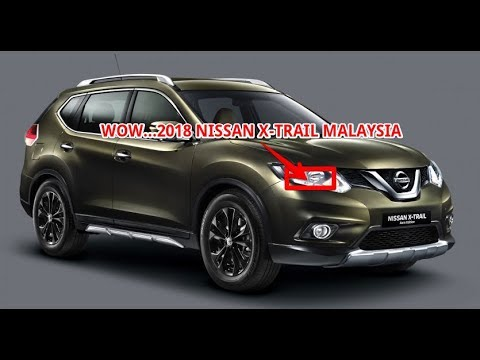 wow 2018 nissan x trail malaysia youtube. Black Bedroom Furniture Sets. Home Design Ideas