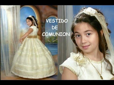 Patrones vestidos de comunion
