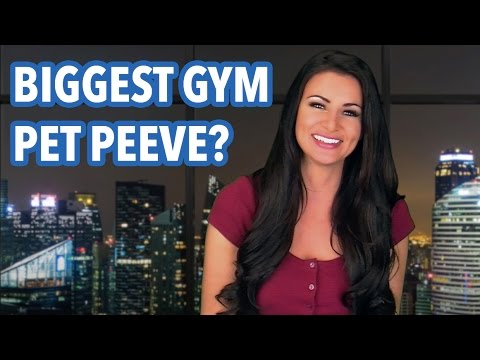 What Is Your Biggest Pet Peeve At The Gym - April Rose Files