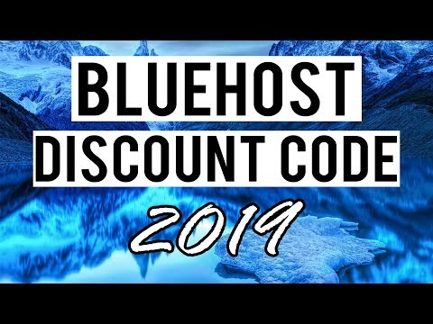 Bluehost Coupon Code [2019] - 60% Discount On Bluehost Web Hosting