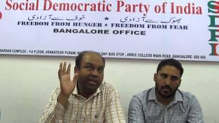 We are reviving agitative politics in Karnataka- SDPI on its Assembly election plans