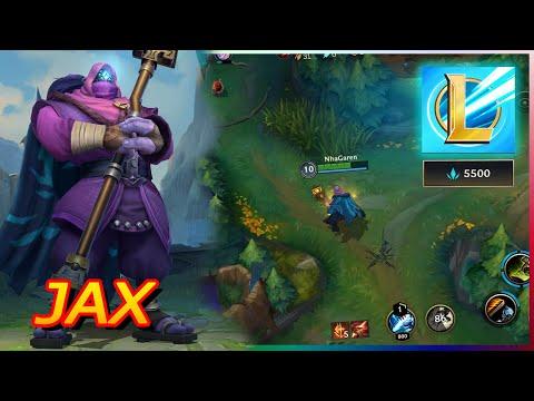 Liên Minh Mobile : Trải Nghiệm JAX Trên Điện Thoại Cực CHẤT - GamePlay JAX Wild Rift