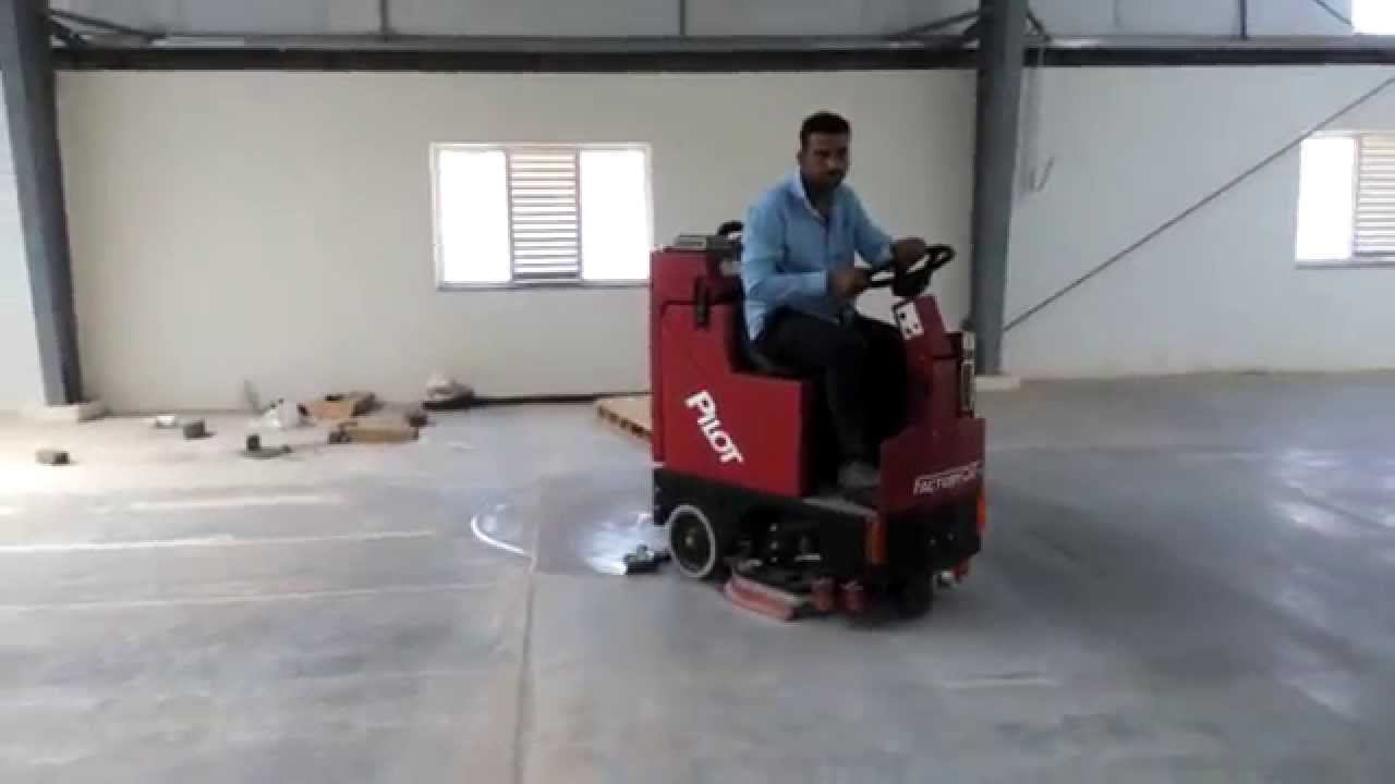 Factory Cat PILOT Ride On Floor Scrubber Dryer | Industrial Cleaning