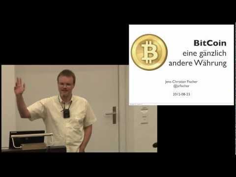 BitCoin -  eine gänzlich andere Währung (Jens-Christian Fischer) 1. Swiss New Finance Conference