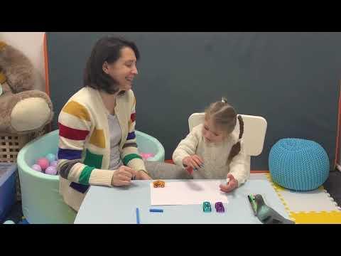 Игры для развития мелкой моторики рук. Занятие с дефектологом. Подготовка руки к письму