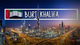 Бурдж Халифа и Дубай Фонтан | Burj Khalifa and Dubai Fountain | Самое высокое здание в мире
