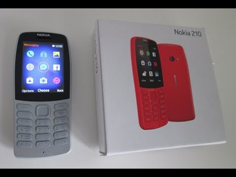 Nokia 210 2019 Mobile Phone Cell Phone Review, New Nokia 2019, Games, Snake, Classic Nokia.