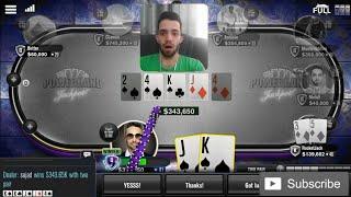 پوکر آنلاین و دوبرابر کردن سکه با یه دست خوب   wsop online poker game
