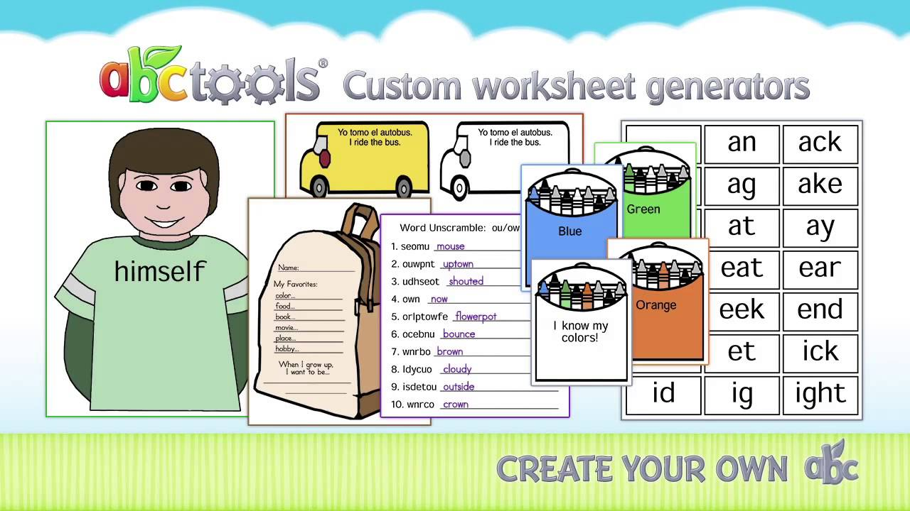 Abcteach Printable Worksheets For Teachers Common Core Smart Board