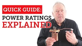 Quick Guide: Power ratings in electric showers explained.