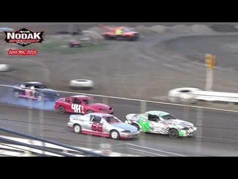 Nodak Speedway IMCA Sport Compact Races (6/9/19)
