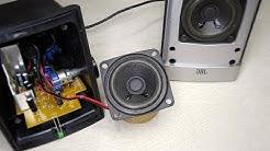 Amplifier DIY Left channel low volume output fix