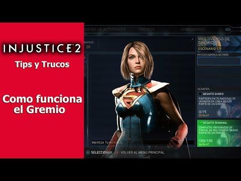 Injustice 2 | Tips y Trucos | Cómo funciona el Gremio