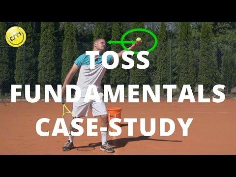 Tennis Serve Toss Fundamentals: Case-Study
