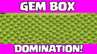 Gem Box Domination - Gem Box Bases are AWESOME in Clash of Clans!