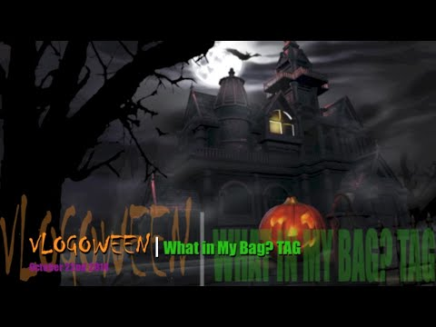 Vlogoween 2014 22 | What's In My Bag? TAG thumbnail