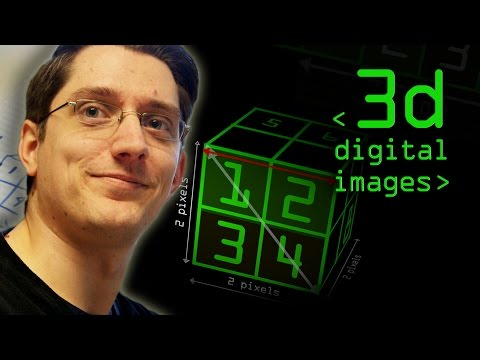 3D & Multiple Dimensions in Digital Images - Computerphile