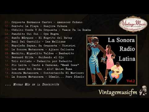 La Sonora Radio Latina  (Full Album/Álbum Completo) Vol. 2
