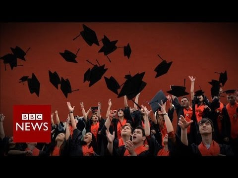How big of a burden is student debt? - BBC News