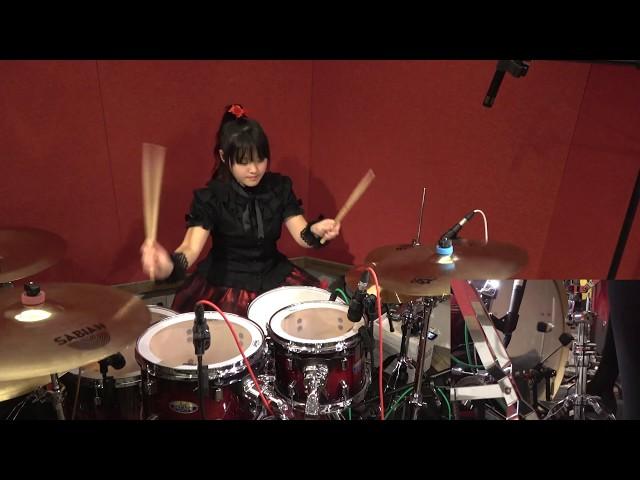 【BABYMETAL】『紅月-アカツキ-』(AKATSUKI)叩いてみた(Drum cover)