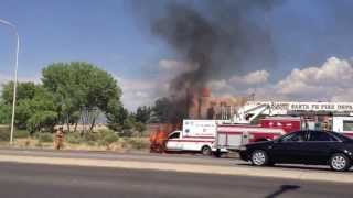 Santa Fe fire Dept.. have a hot mess on their hands